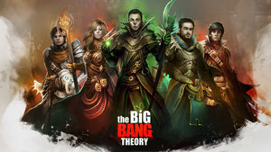 Wallpapers Film en serie The big bang theory