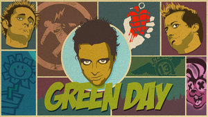 Sterren Green day Wallpapers Green Day Sketch