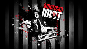 Sterren Green day Wallpapers Green Day Saint Jimmy American Idiot
