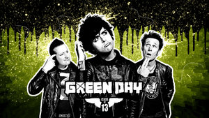 Sterren Green day Wallpapers Green Day Alle Drie