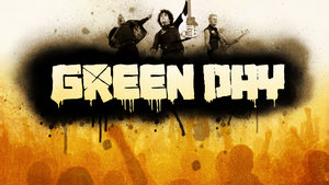 Sterren Green day Wallpapers Green Day Met Publiek