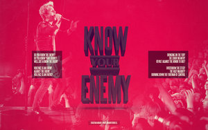 Sterren Green day Wallpapers Green Day Know Your Enemy