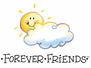 Forever friends Wallpapers Forever Friends Wolk Zon