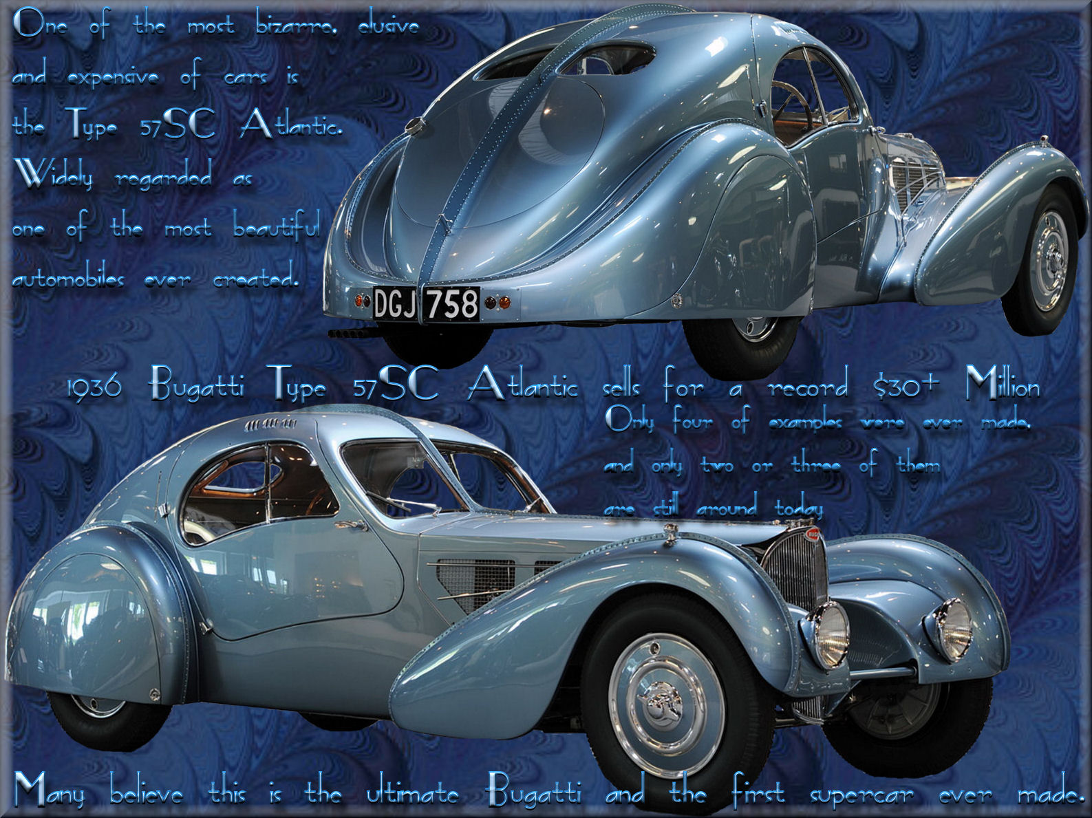 Auto Wallpapers Bugatti 57sc Atlantic 1936
