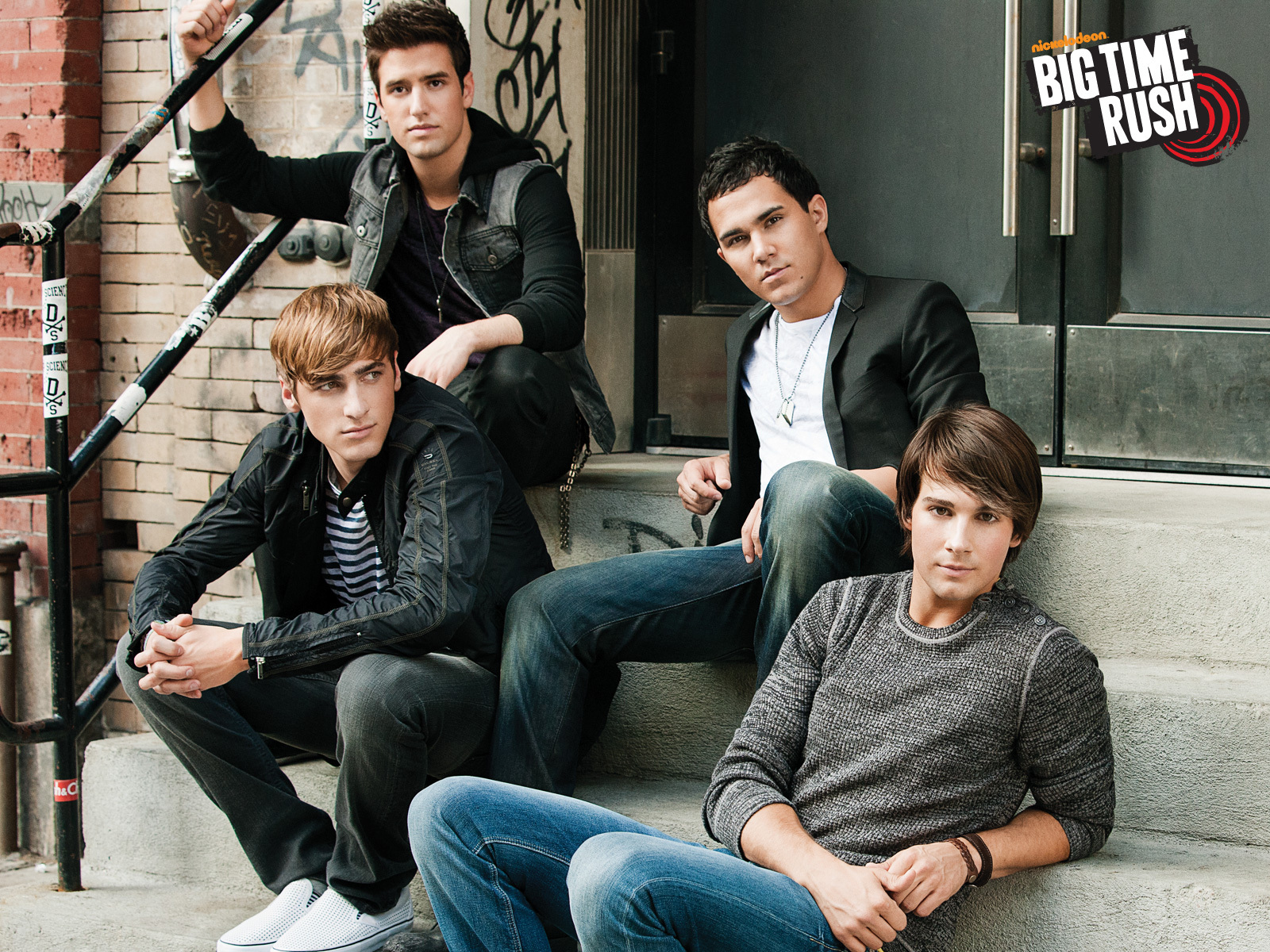 Big time rush Wallpapers Film en serie