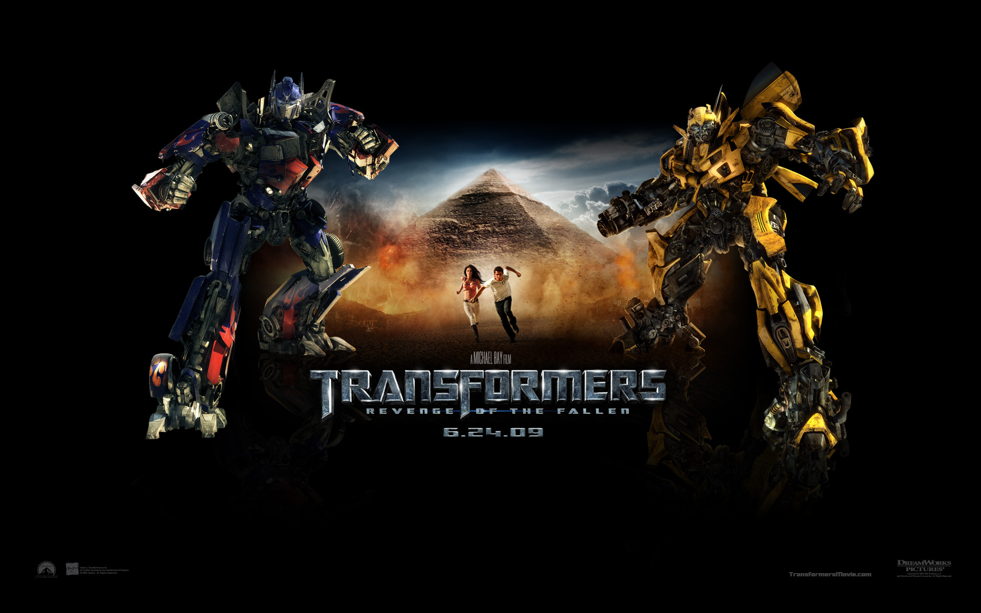 Wallpapers Film en serie Transformers 2