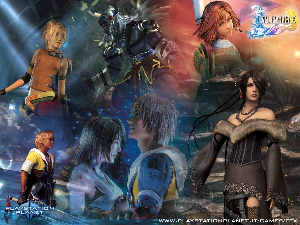 Games Wallpapers Final fantasy 10