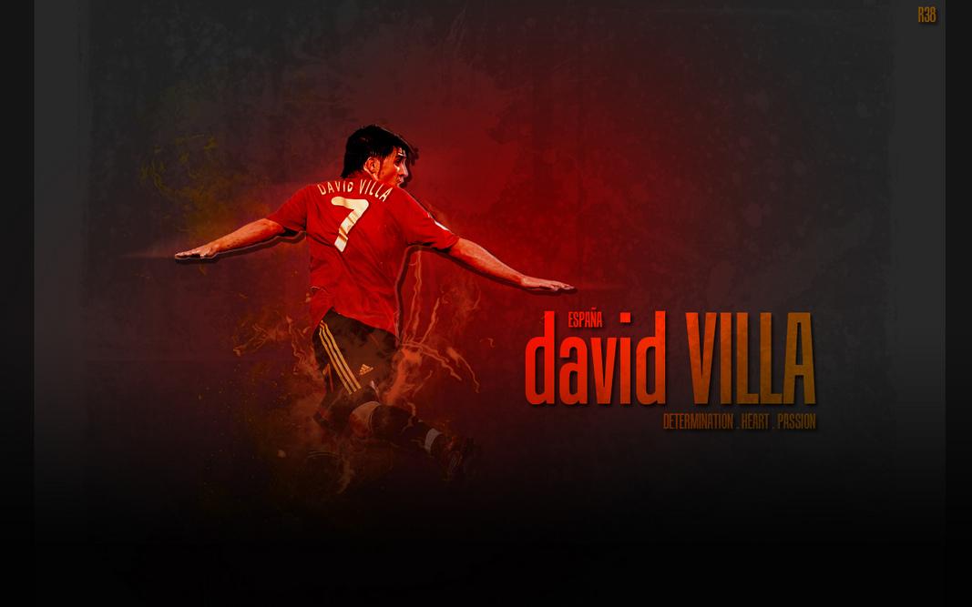Sterren Wallpapers David Villa