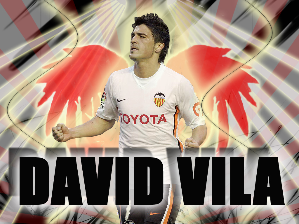 Sterren Wallpapers David Villa