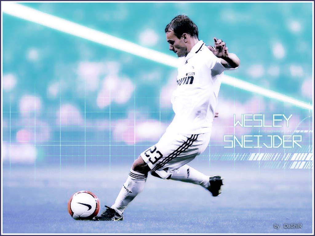 Sterren Wallpapers Wesley Sneijder