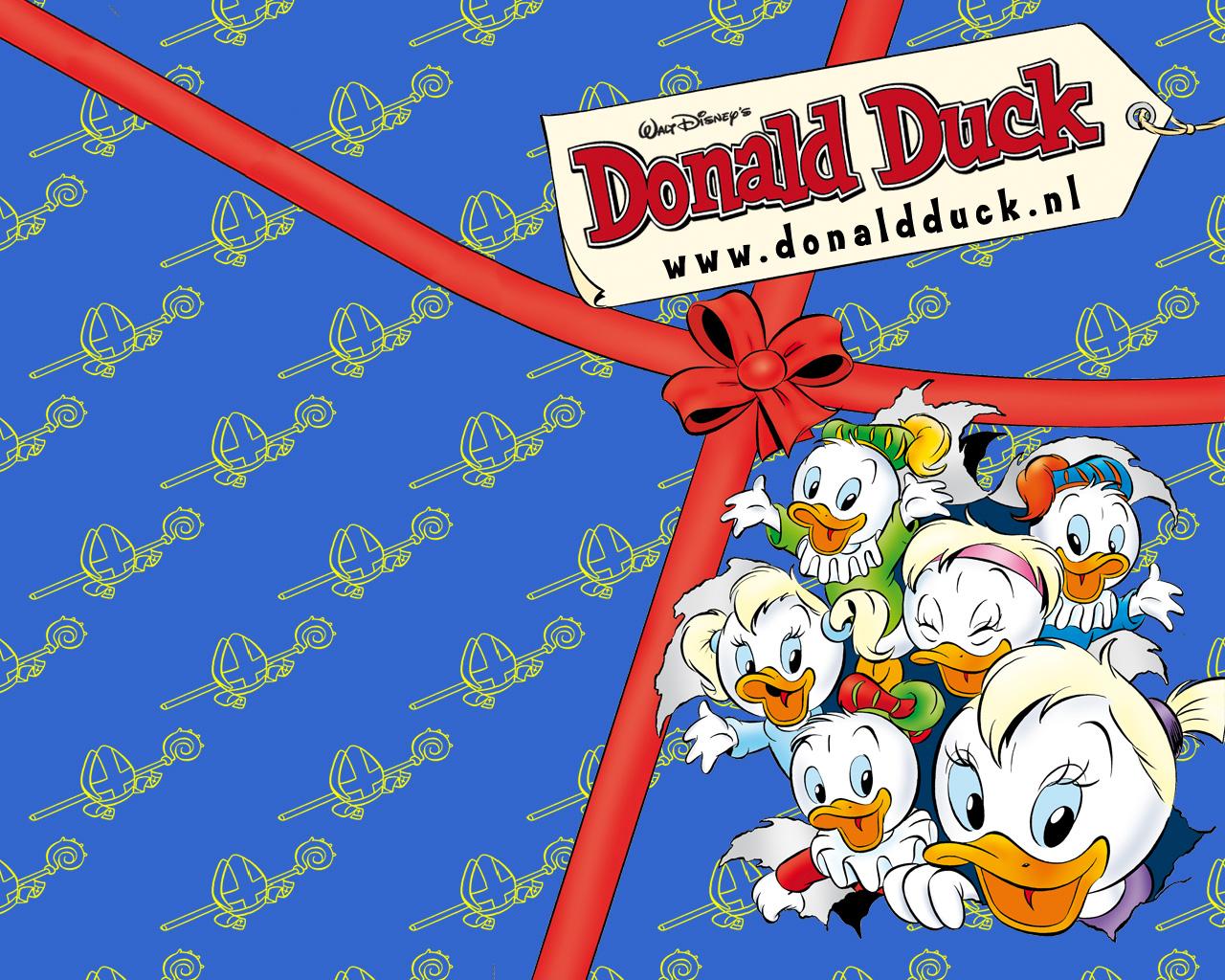 Wallpapers Donald Duck En Vrienden Animaatjesnl