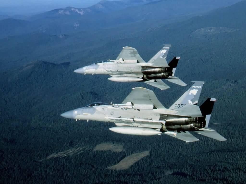 Wallpapers gevechts vliegtuigen